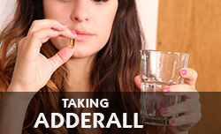 taking adderall
