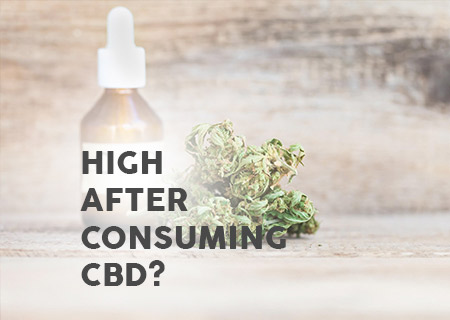 Is it possible to become high after consuming CBD