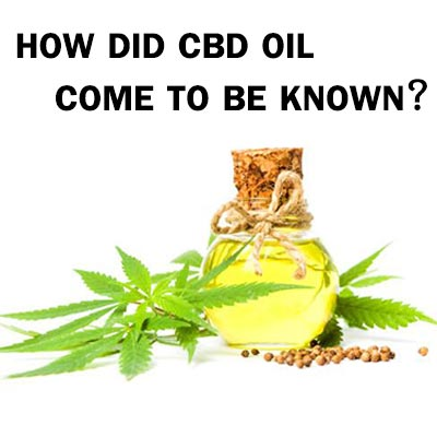 how did cbd oil come to be known